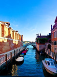 different places of venice in summer