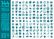 Set Of Icons, Quality Universal Pack, Big Icon Collection Vector Design Eps 10