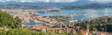 panorama de la Spezia, ville, port et arsenal de Ligurie, Italie