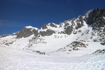 Mala Studena valley in High Tatras, Slovakia