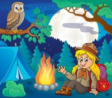 Scout girl theme image 6