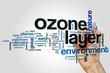 Ozone layer word cloud