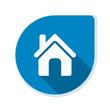 Home button icon illustration