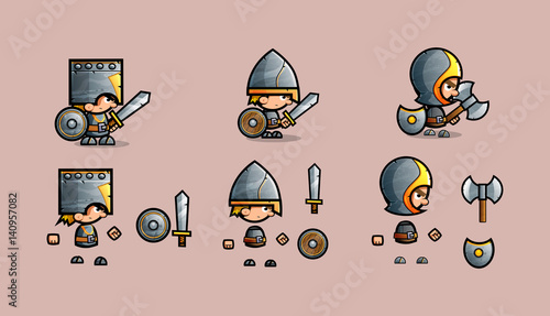 Mini Character warrior kit - 140957082