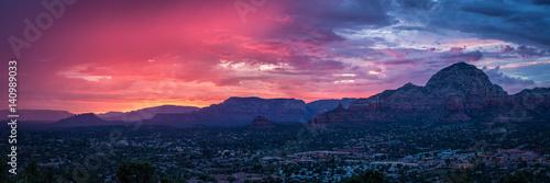 Papiers peints Arizona Sunset Over Sedona Arizona