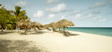 Eagle beach on Aruba island