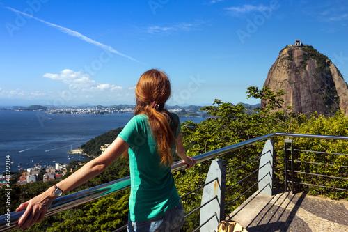 Aluminium Rio de Janeiro girl at Pao de Acucar