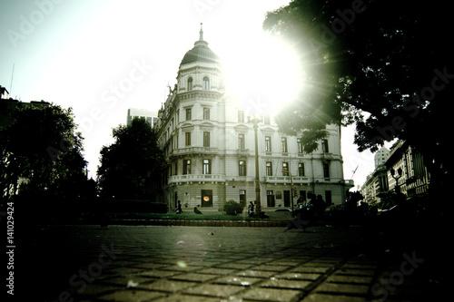 Foto op Plexiglas Buenos Aires Historic architecture in Buenos Aires, Argentina