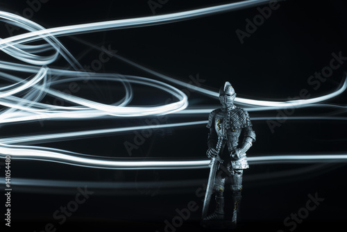 Poster Medieval Knight with greatsword