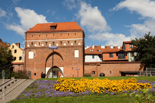 Brama Św.Ducha w Toruniu, Polska, Gateway Holy Spirit - monument in Torun, Poland