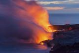 Hawaii Big Island Landscapes Volcano Beach