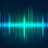 abstract digital blue equalizer, sound wave pattern element