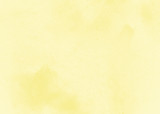 Yellow abstract textured background to the point with spots of paint - 141128261