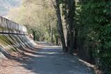 Sentier au bord de l'Isère