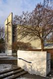Modernes Gotteshaus: Die Dankeskirche in Berlin-Wedding