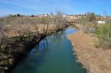 Río Tajo a su paso por Fuentidueña de Tajo
