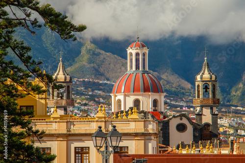 Foto op Canvas Canarische Eilanden The town of La Orotava, Tenerife