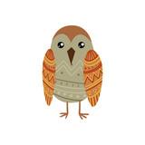 Bird Wearing Tribal Clothing