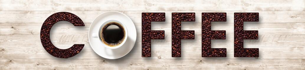 Coffee cup and seeds © Dawid K