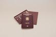 Photo of Romanian passports