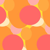 абстрактный фон с кругами, векторная иллюстрация