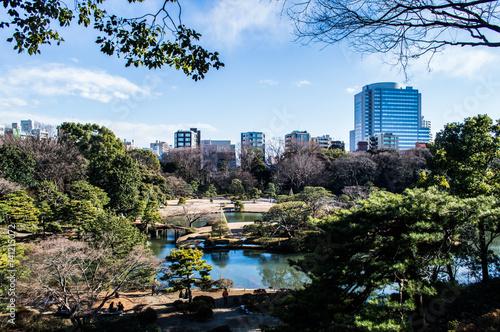 Poster Rikugien Garden in Tokyo