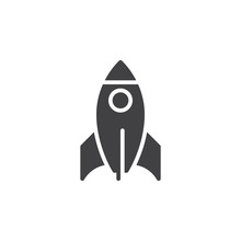 Rocket Icon  Filled Flat Sign Solid Pictogram   Startup Symbol Logo Illustration Pixel Perfect Sticker