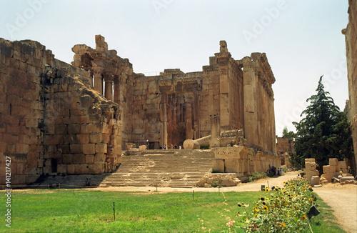 Temple of Bacchus, Baalbek, Lebanon Poster