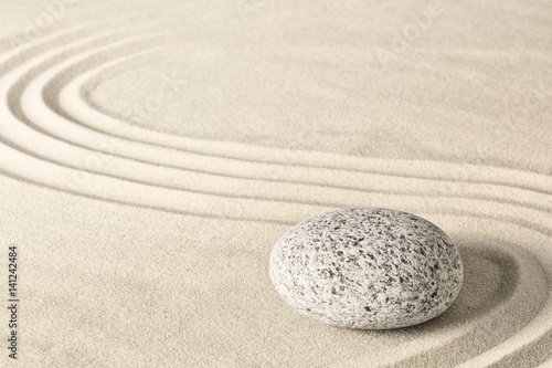 Spa wellness zen stone garden. Relaxation and meditation towards spirituality. Meditative background. ..