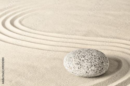 Spa wellness zen stone garden. Relaxation and meditation towards spirituality. Meditative background. ..