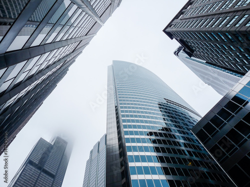 Skyscrapers in the mist - 141245896