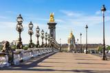 Pont Alexandre III Bridge & Hotel des Invalides, Paris, France