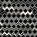 seamless abstract geometric pattern background, with strokes and splashes, zigzag