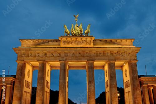 Poster Brandenburg Gate, Berlin
