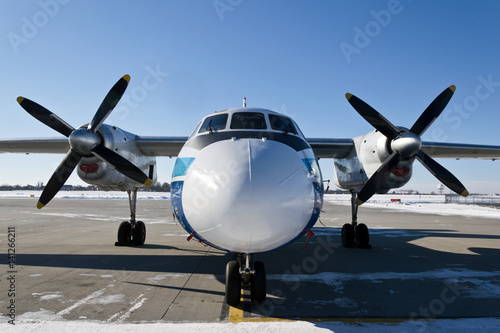 Juliste Turbo propeller plane