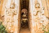 Myanmar - Buddha - Pagode - Ruine- Front