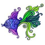 Exotic Fish Tattoo Decorative-1