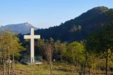 Cruz cristiana en el Monte de los Pozos de Vigo