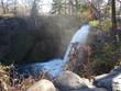 Minnehaha Falls in the autumn