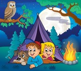 Camping theme image 5
