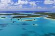 Quadro L'Ile des Pins, vu du ciel