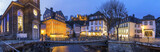 Fototapety monschau historic city in germany high definition panorama at night