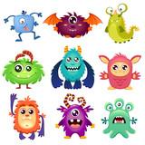 Cute cartoon monster...