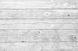 Leinwanddruck Bild - White wood planks background