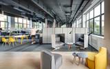 Fototapety Coworking in loft style
