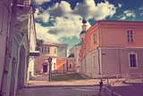 Old street at Vladimir in summer, Russia