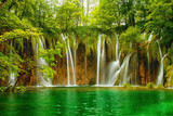 Plitvice lakes park in Croatia. - 141465823