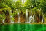 Plitvice lakes park in Croatia. - 141465823