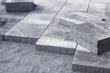 terassenplatten verlegen - 141485642