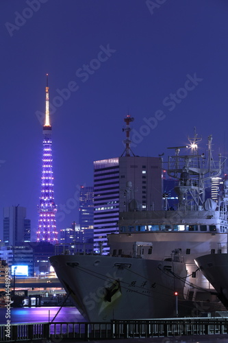 Poster 東京夜景